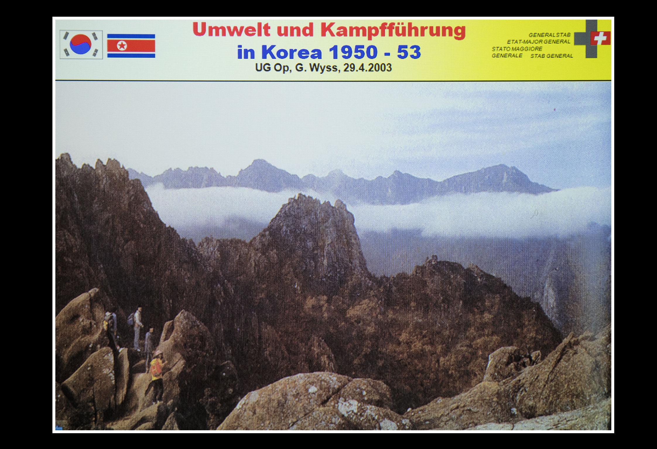 18.01.2017    Die Lehren aus dem Koreakrieg für die Schweizer A