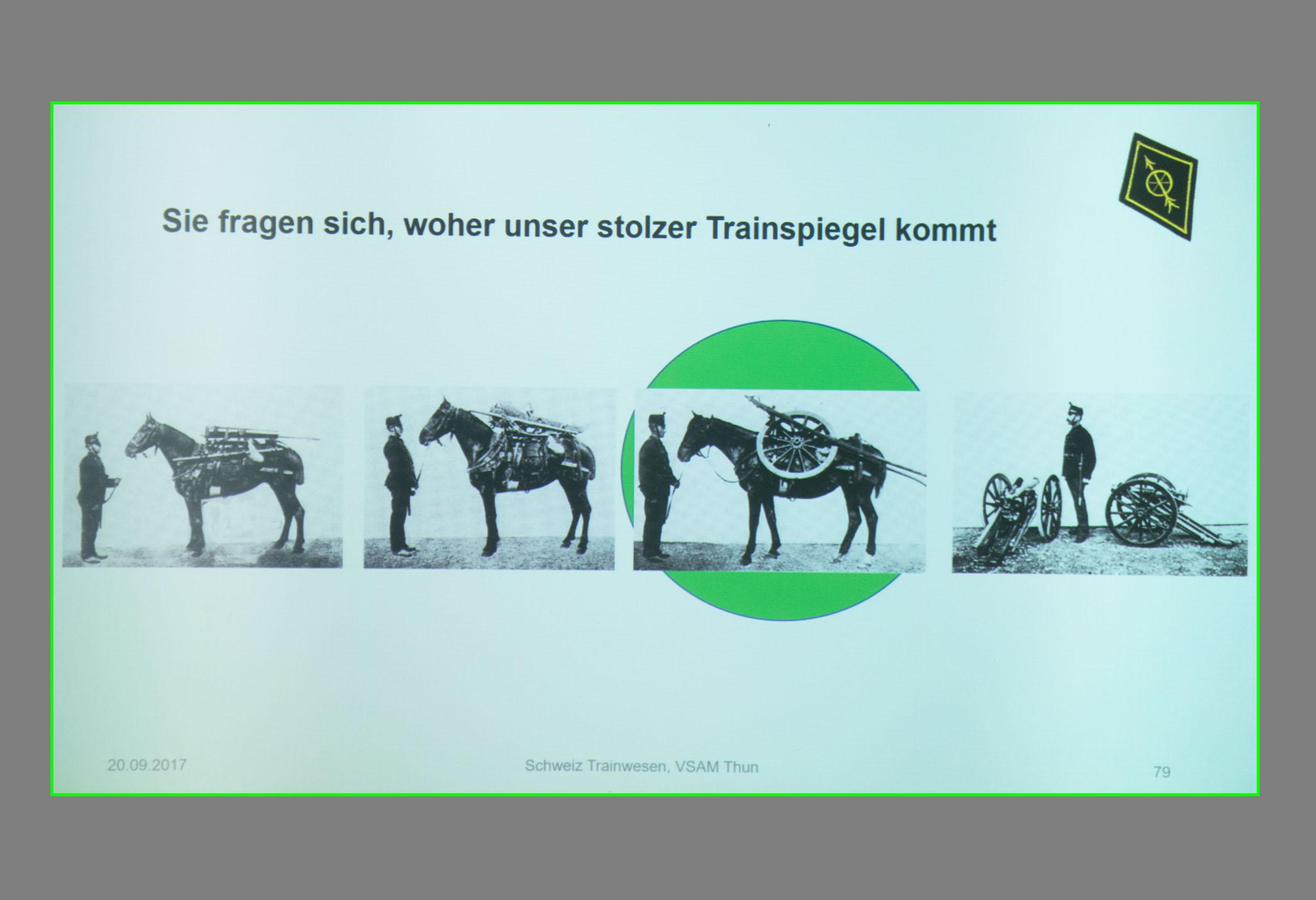 Aus der Geschichte des Schweizerischen Trainwesens