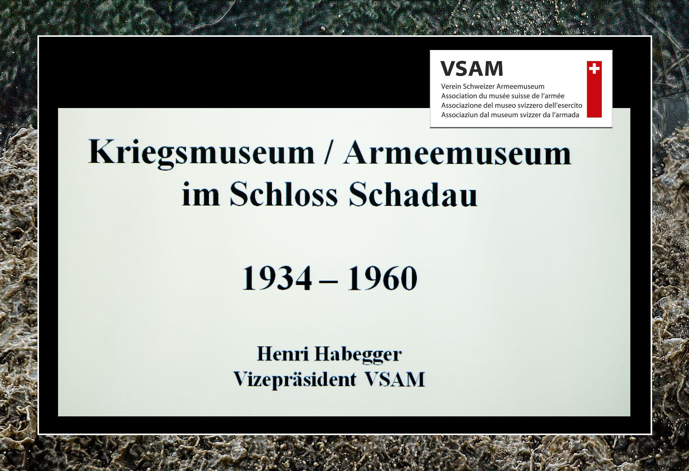 VSAM Vortrag 23.05.2018 Geschichte des Schlosses Schadau in Thun