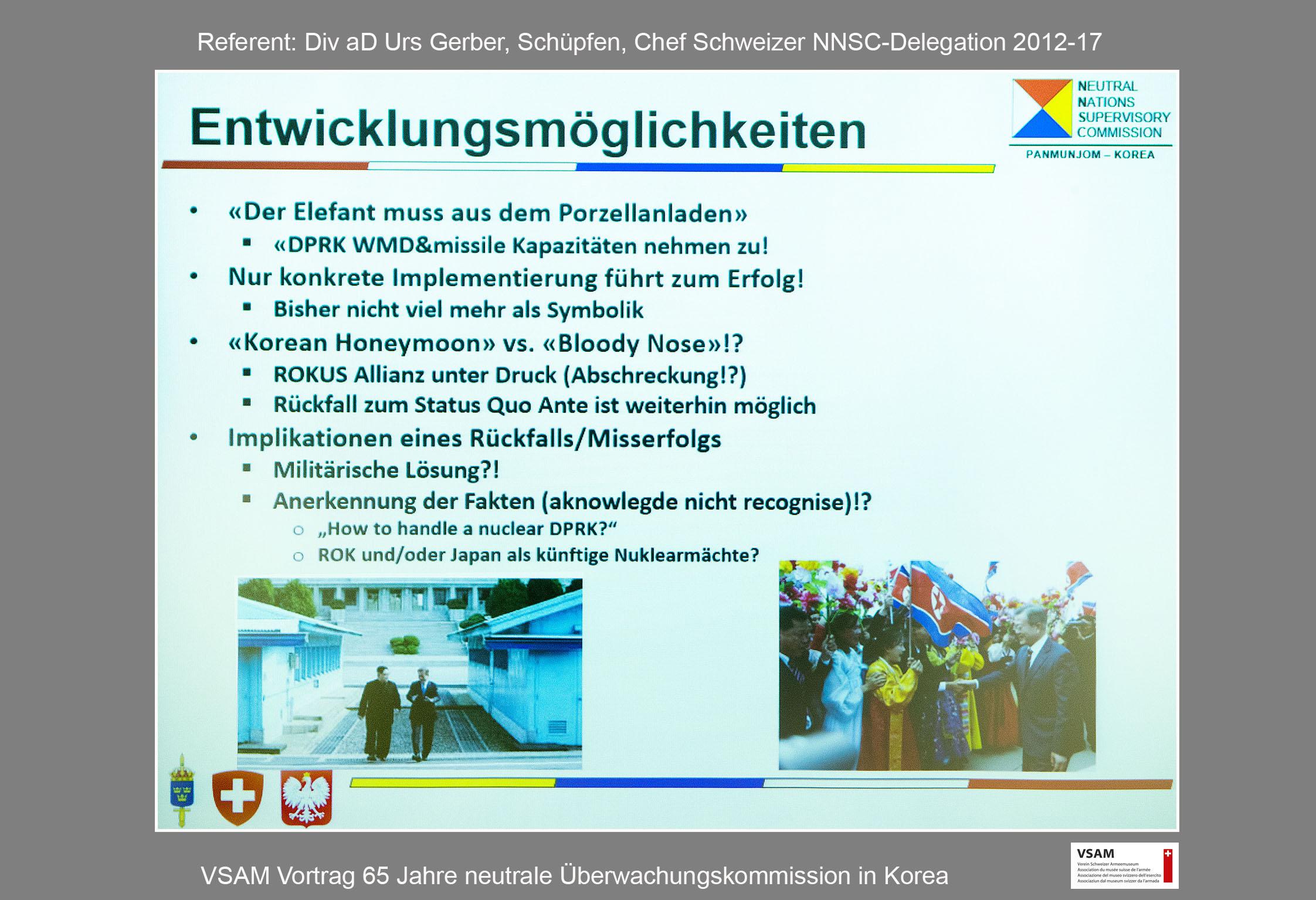 65 Jahre neutrale Überwachungskommission in Korea
