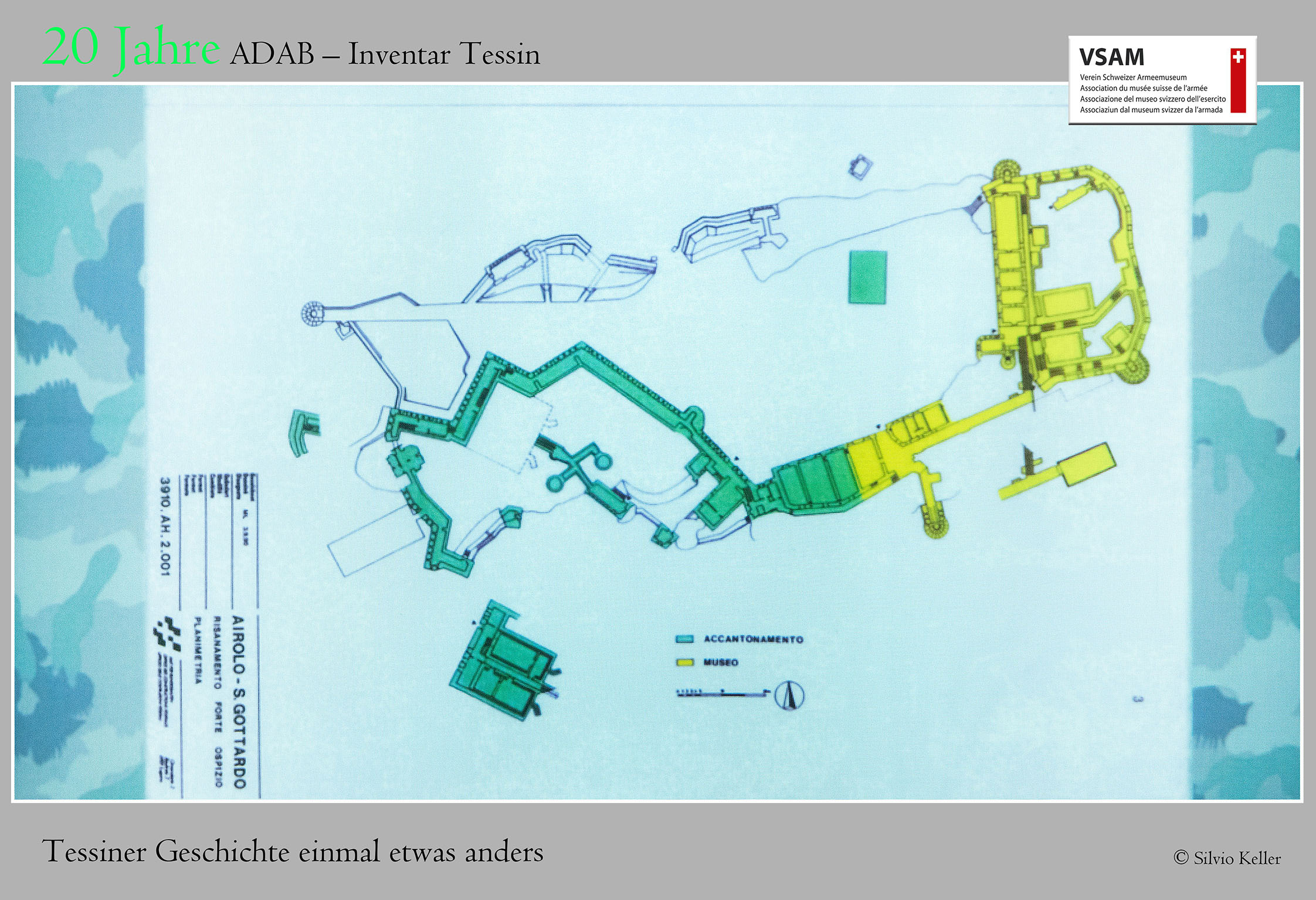 20 Jahre ADAB – Inventar Tessin   Vortrag vom 16. Januar 2019