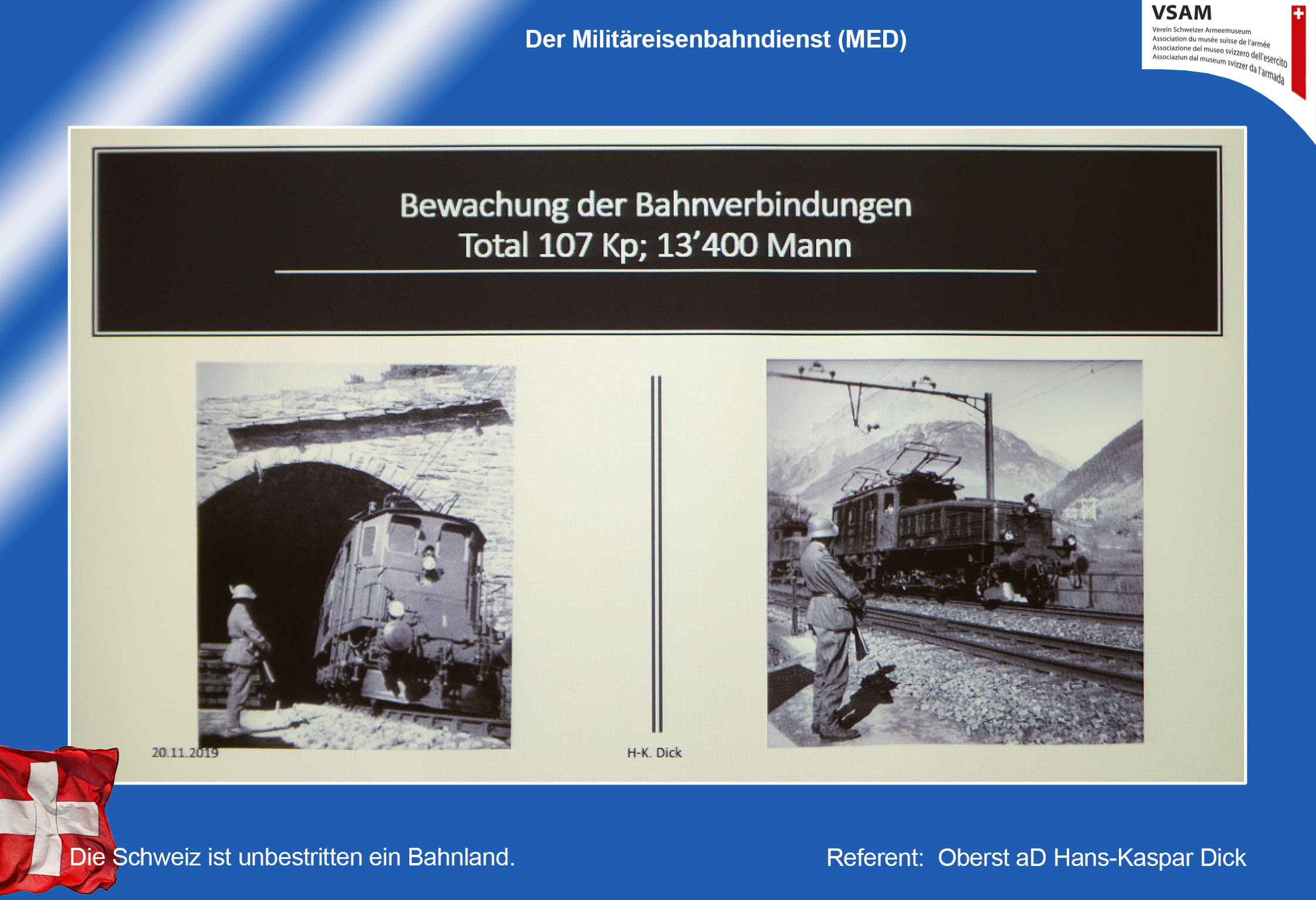 Der Militäreisenbahndienst (MED)