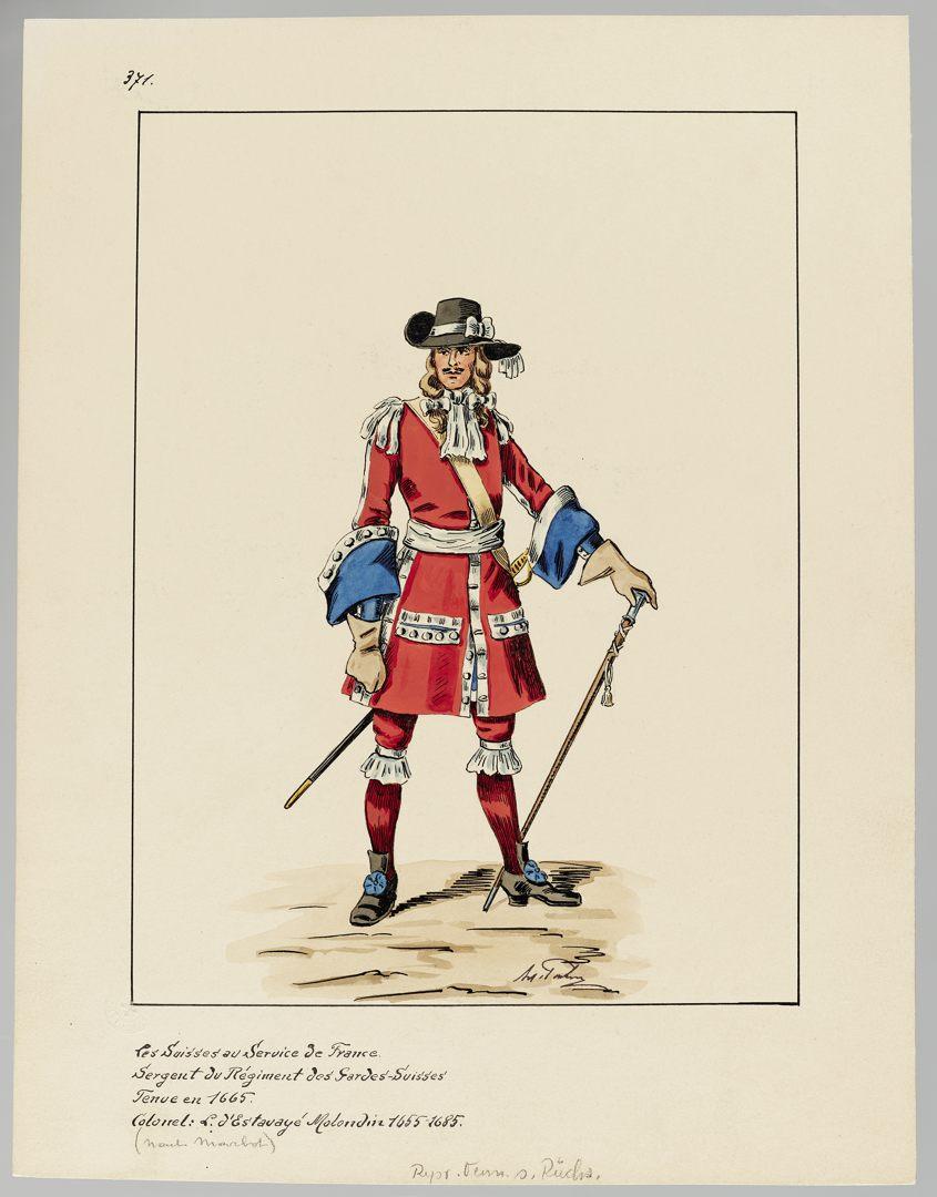 1665 Schweizer Garde GS-POCHON-116
