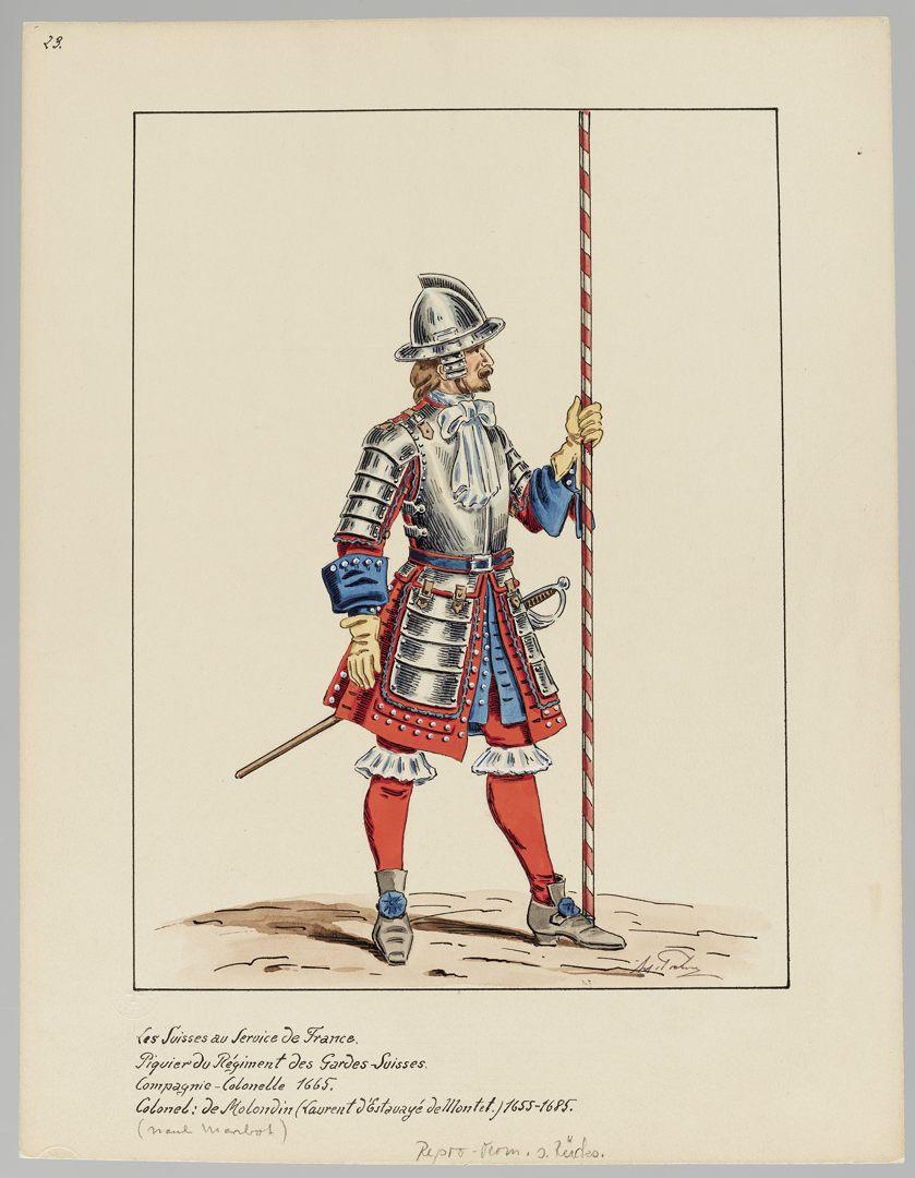 1665 Schweizer Garde GS-POCHON-117