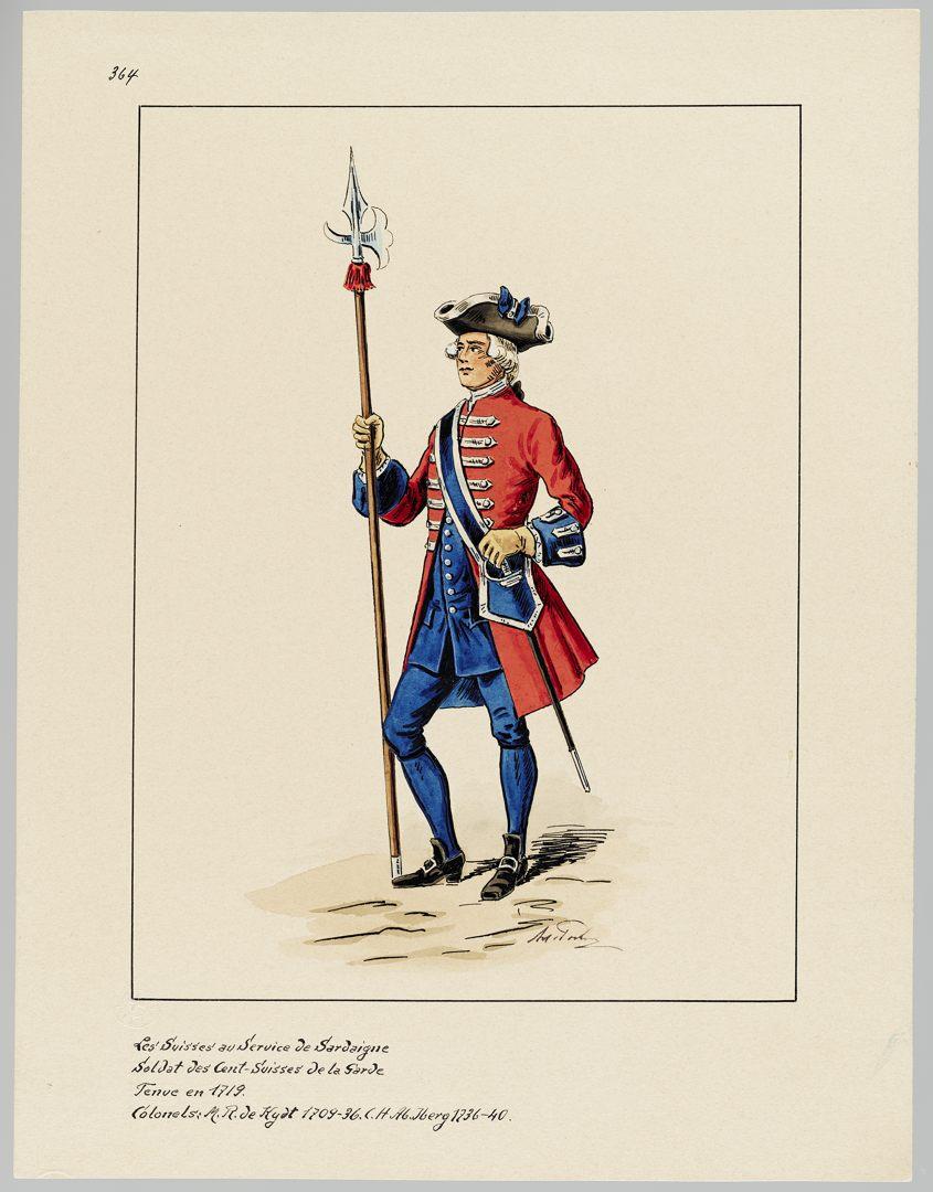 1719 Cent-Suisses GS-POCHON-286