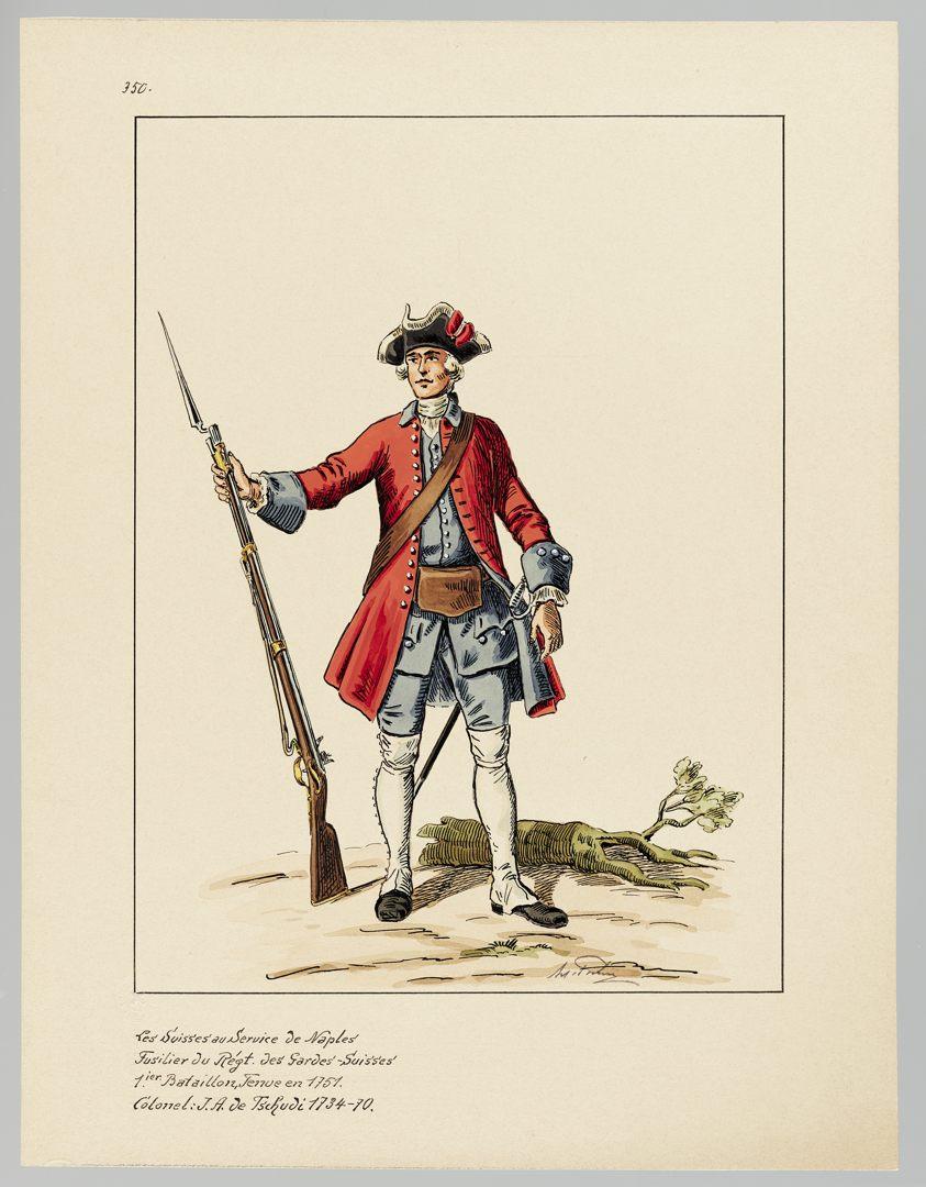 1751 Schweizer Garde GS-POCHON-634