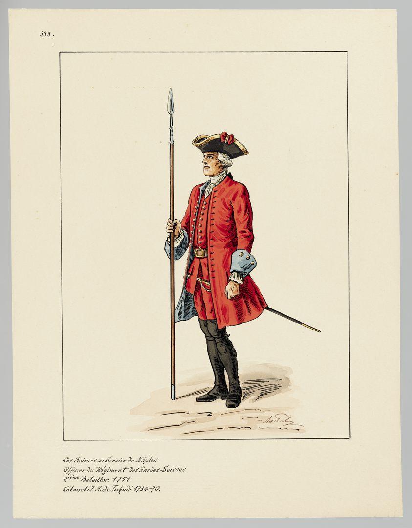 1751 Schweizer Garde GS-POCHON-635