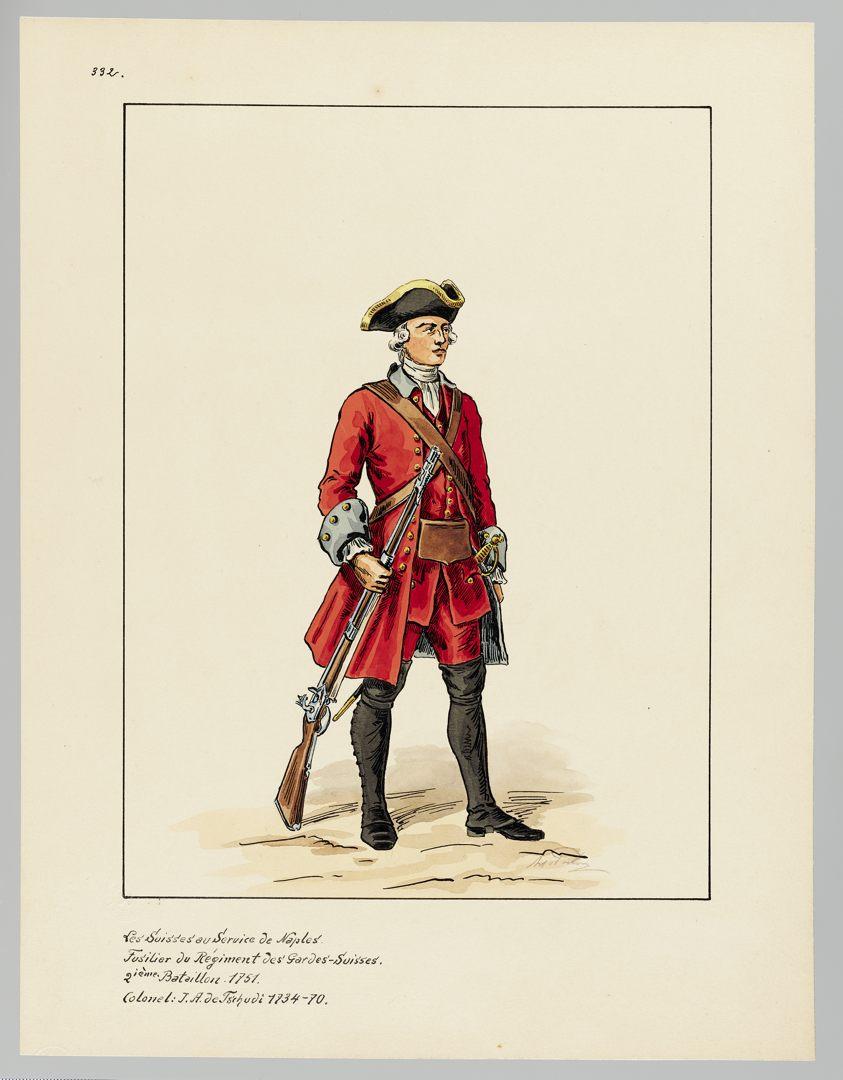 1751 Schweizer Garde GS-POCHON-636