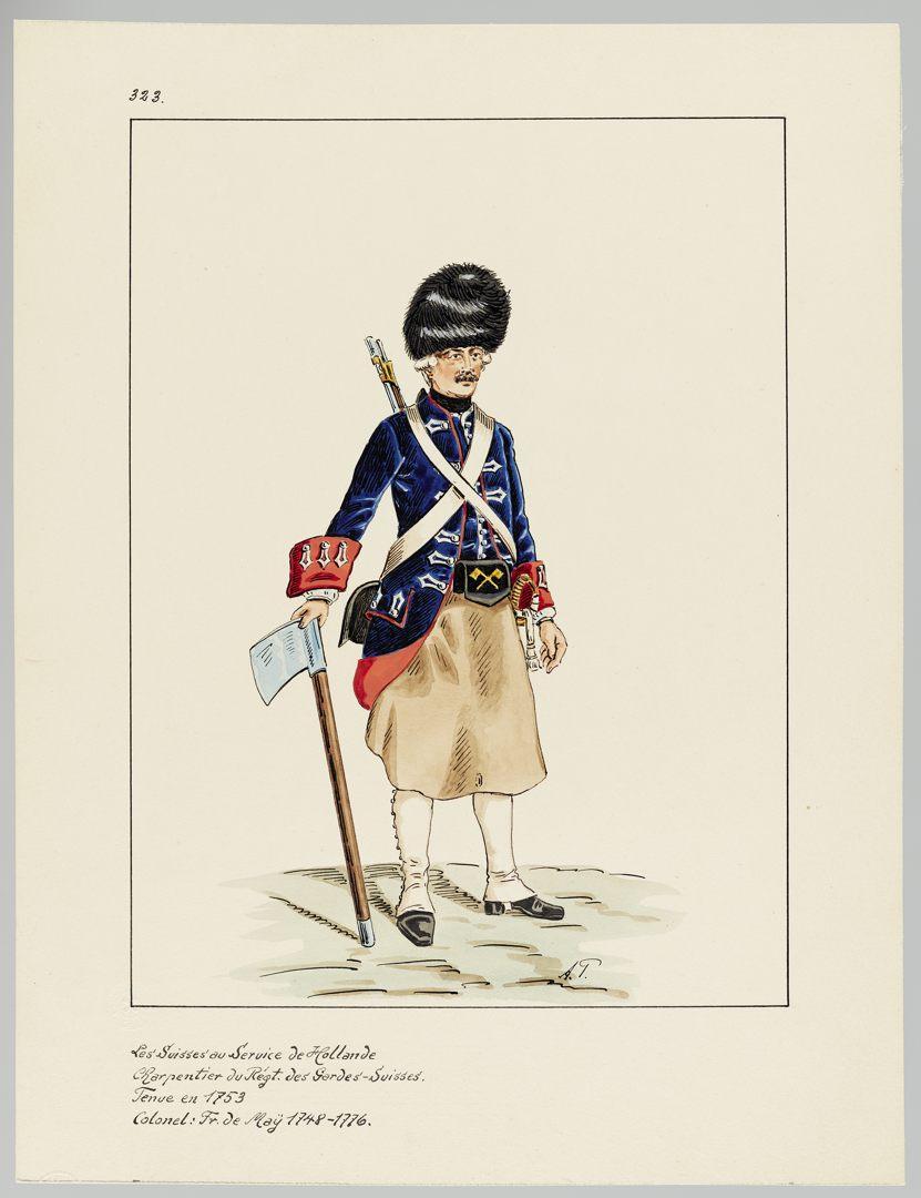1753 Schweizer Garde GS-POCHON-505