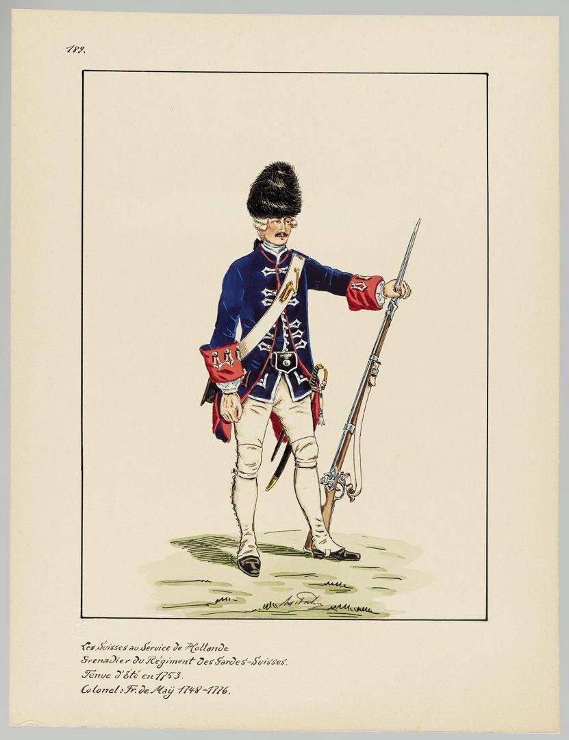1753 Schweizer Garde GS-POCHON-506