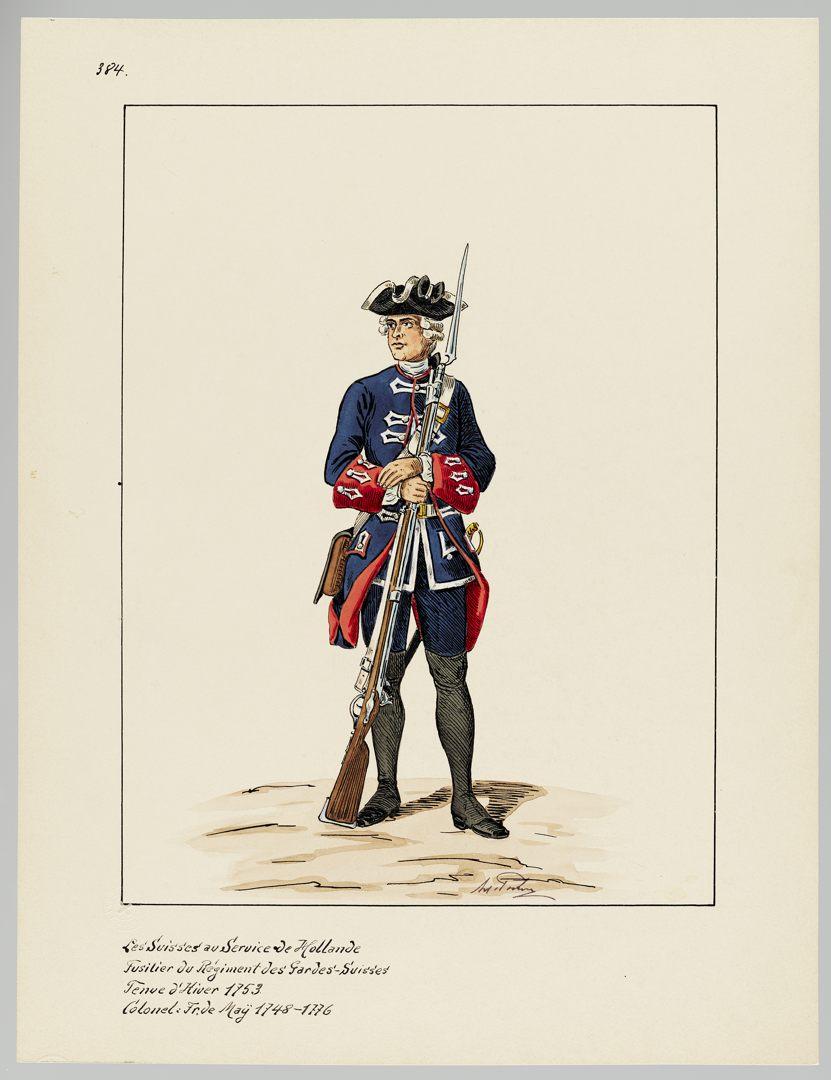 1753 Schweizer Garde GS-POCHON-507