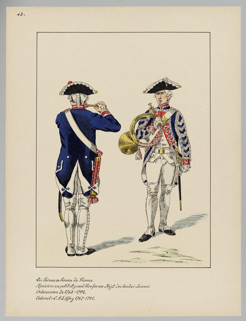 1763 Schweizer Garde GS-POCHON-151
