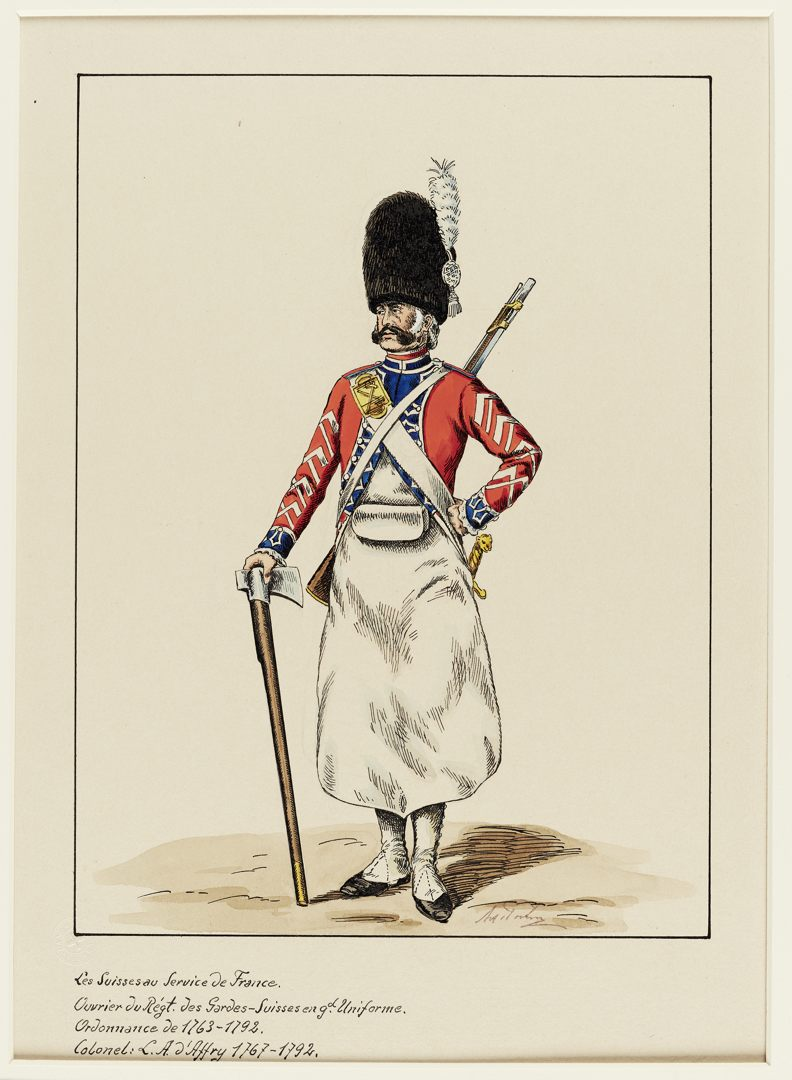 1763 Schweizer Garde GS-POCHON-152
