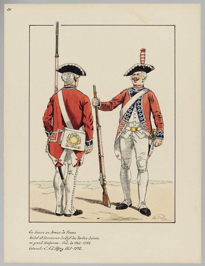 1763 Schweizer Garde GS-POCHON-153
