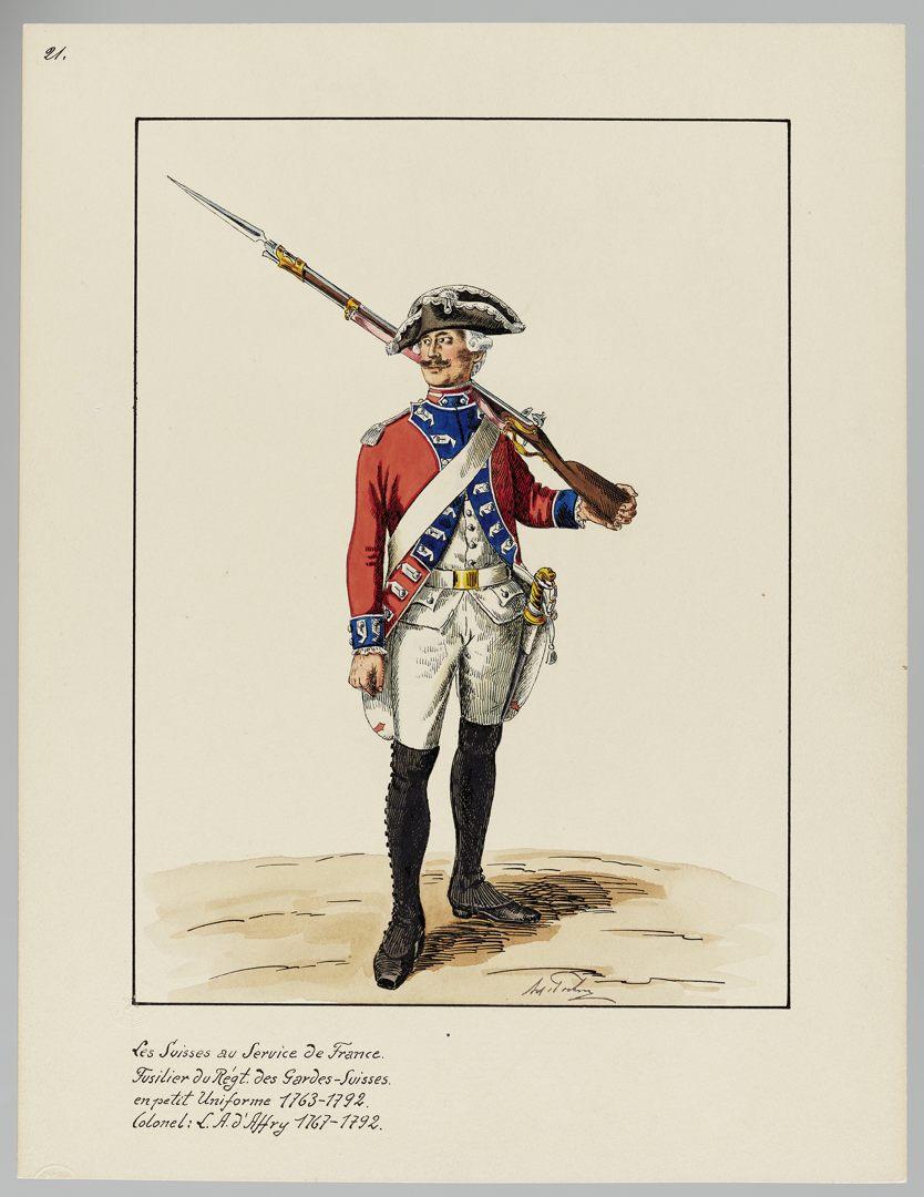 1763 Schweizer Garde GS-POCHON-154