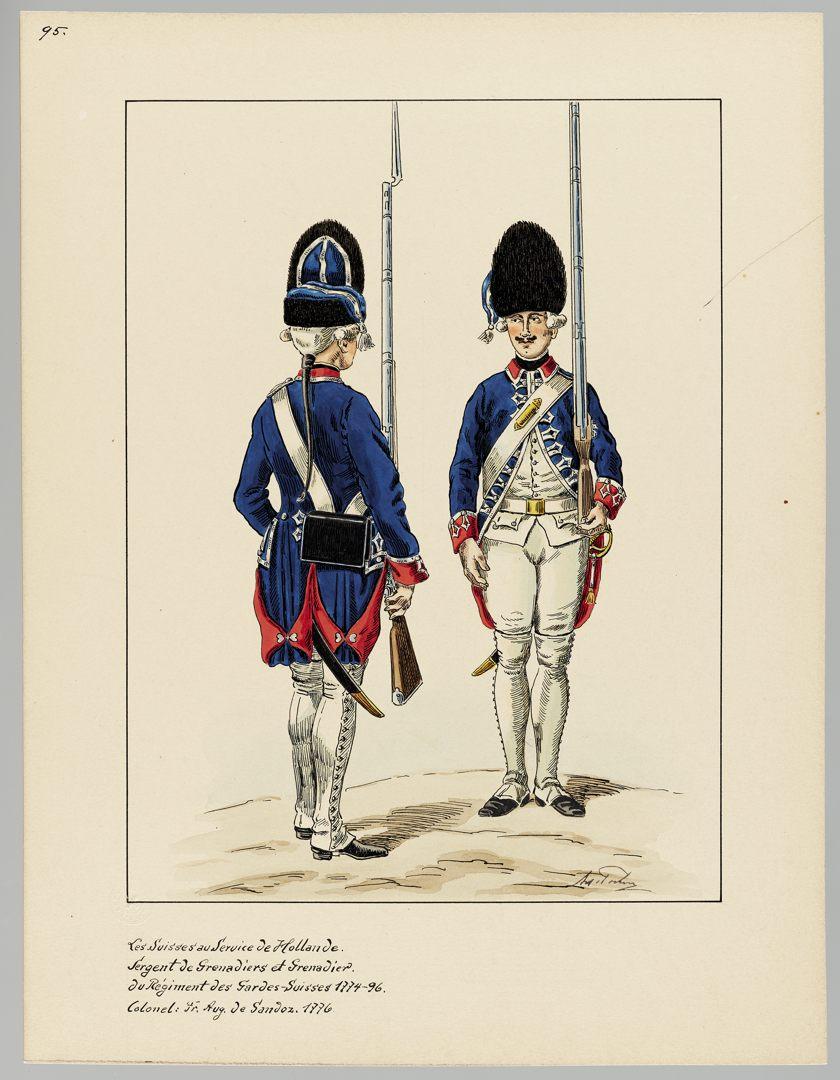 1774 Schweizer Garde GS-POCHON-520