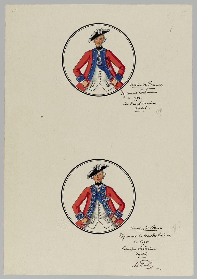 1775 Lochmann Schweizer Garde GS-POCHON-161