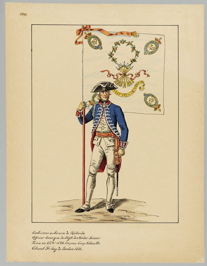 1776 Schweizer Garde GS-POCHON-519