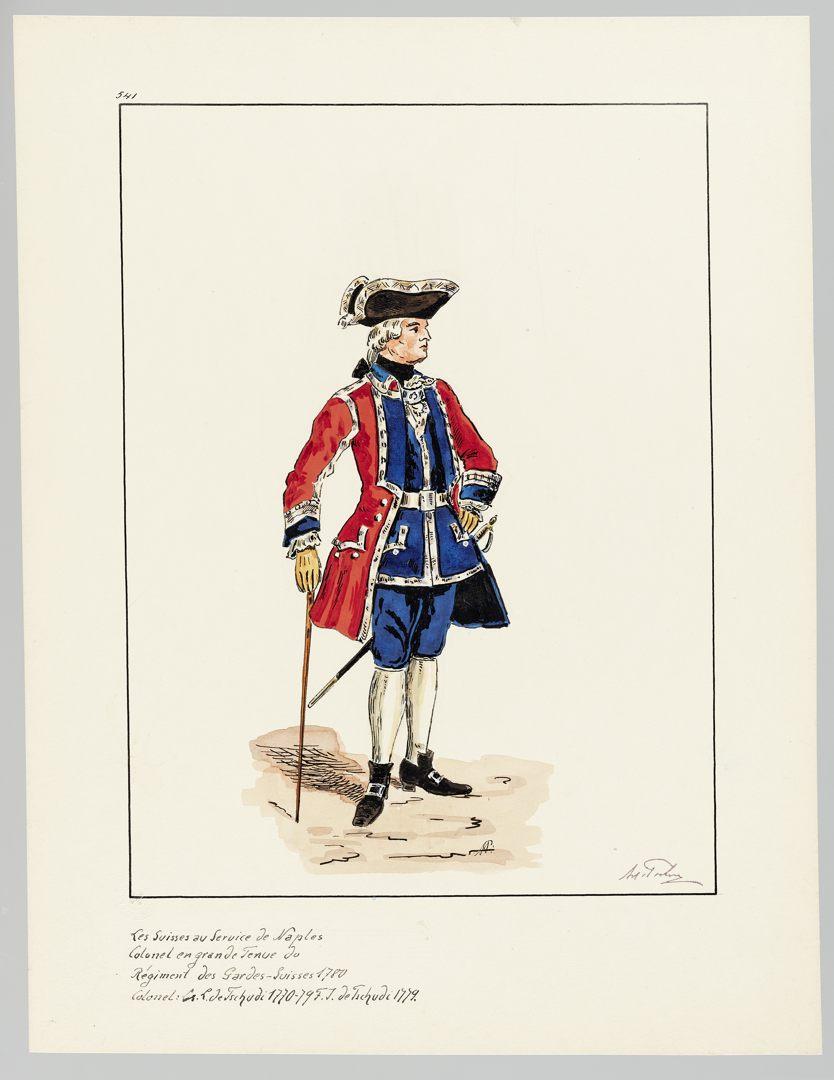 1780 Schweizer Garde GS-POCHON-647