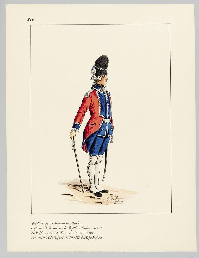 1780 Schweizer Garde GS-POCHON-649