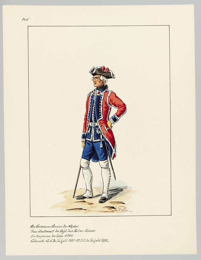 1780 Schweizer Garde GS-POCHON-651