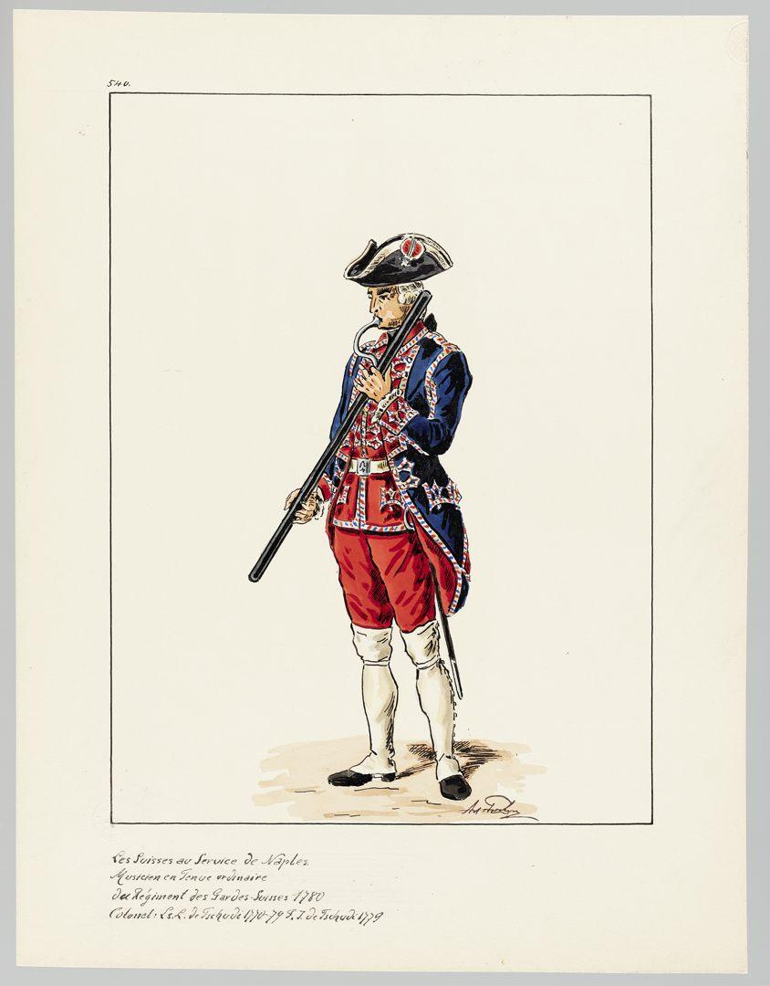 1780 Schweizer Garde GS-POCHON-653