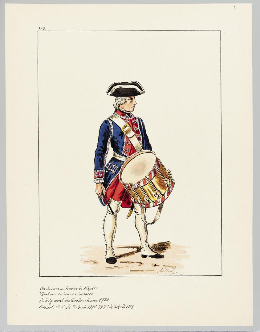 1780 Schweizer Garde GS-POCHON-654