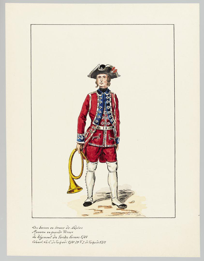 1780 Schweizer Garde GS-POCHON-655