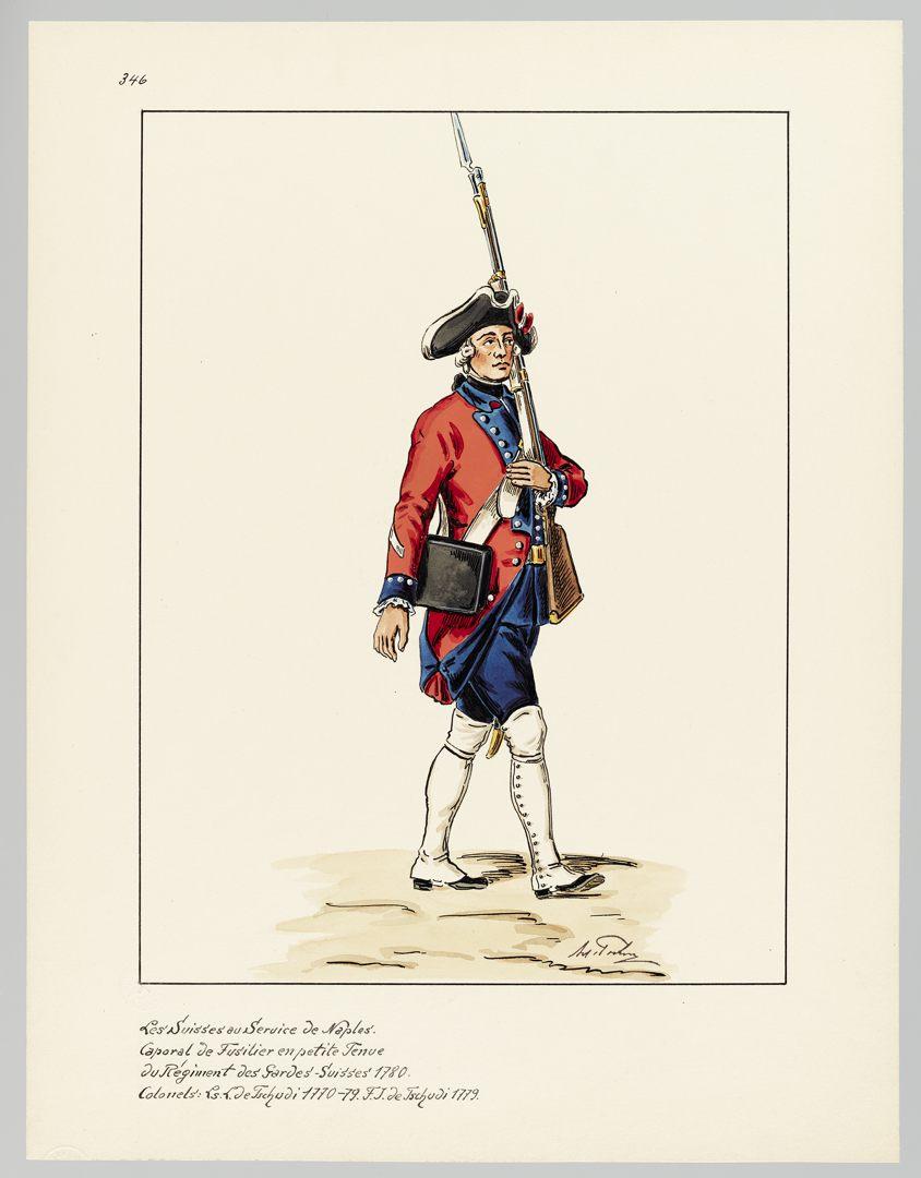 1780 Schweizer Garde GS-POCHON-657