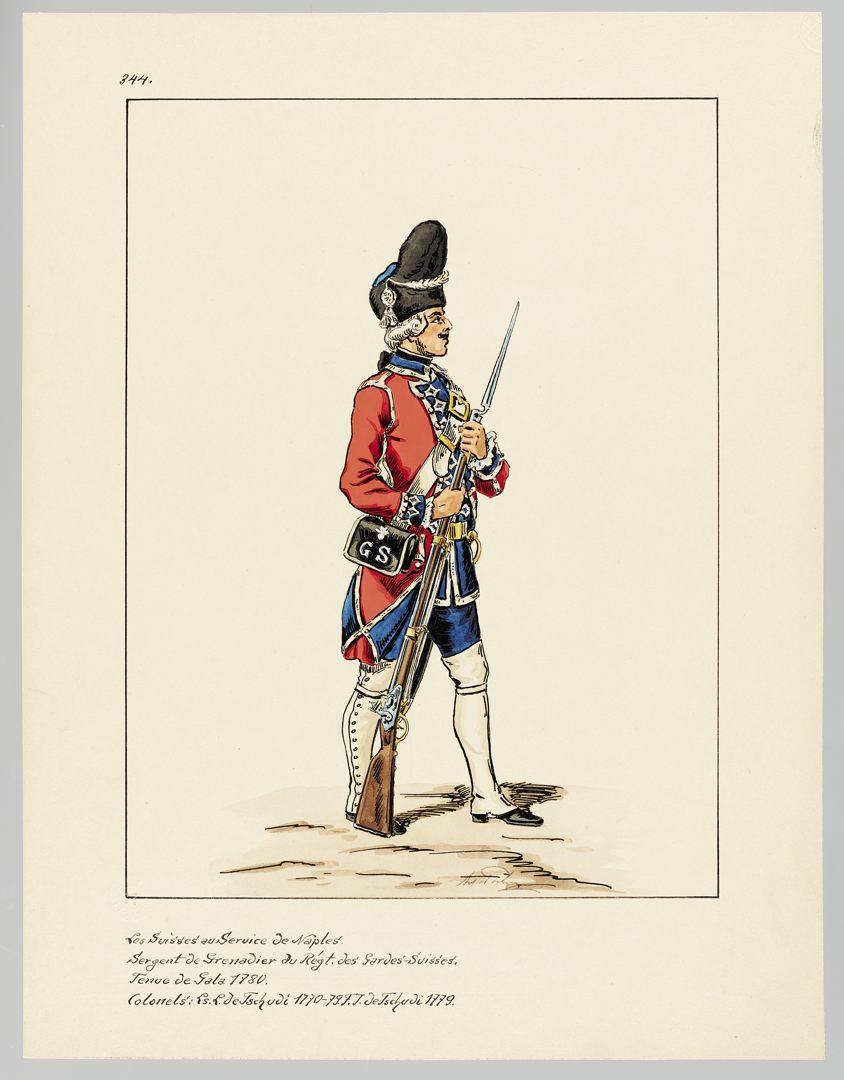 1780 Schweizer Garde GS-POCHON-658