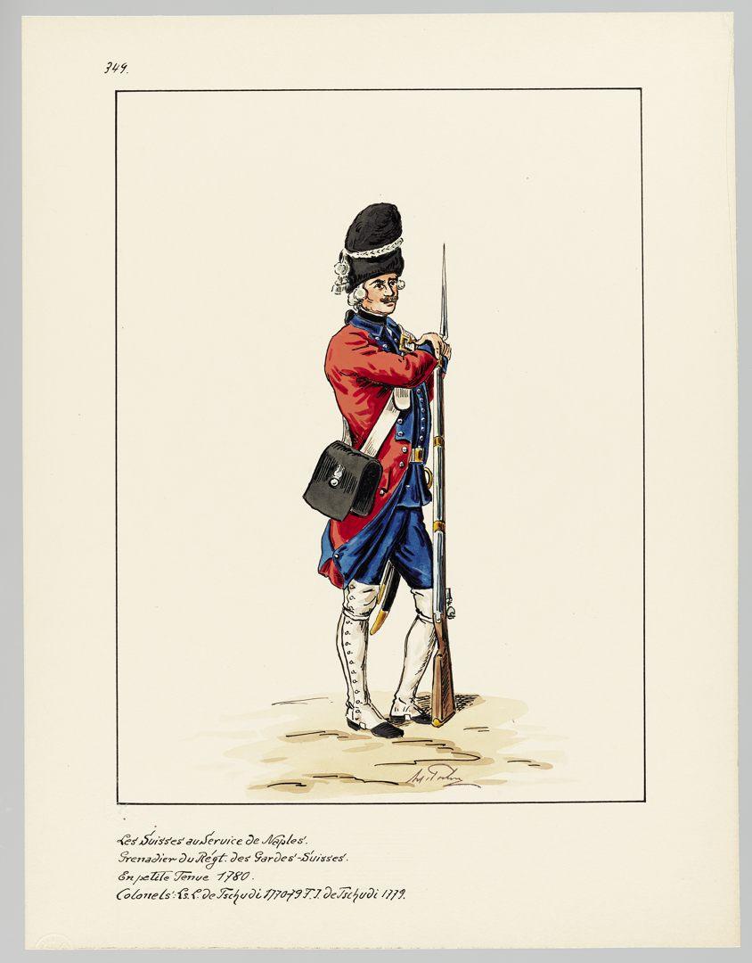 1780 Schweizer Garde GS-POCHON-660