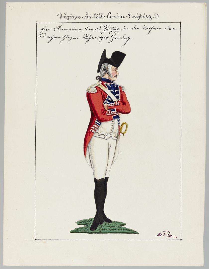 1792 Schweizer Garde GS-POCHON-891