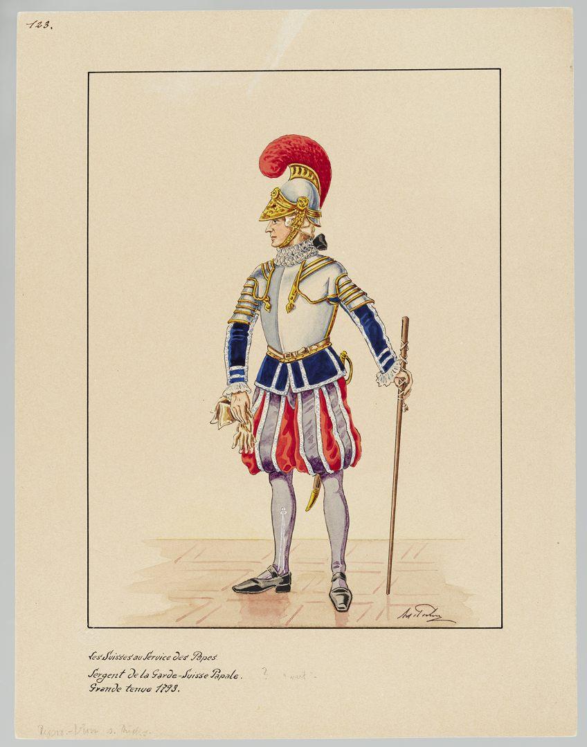 1793 Schweizer Garde GS-POCHON-416