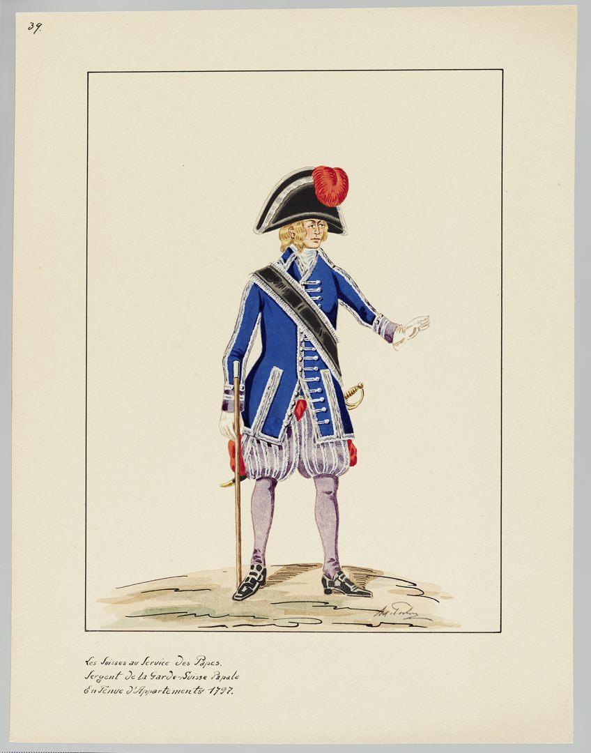 1797 Schweizer Garde GS-POCHON-417