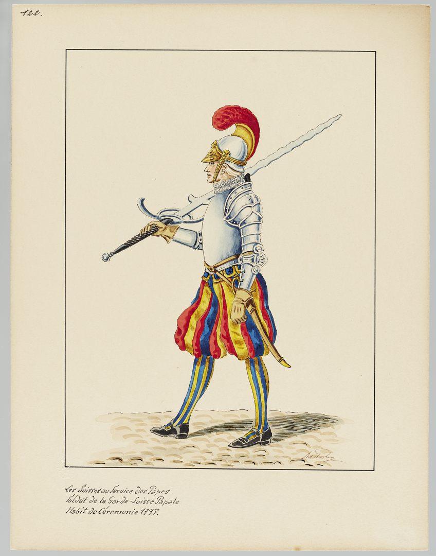 1797 Schweizer Garde GS-POCHON-418