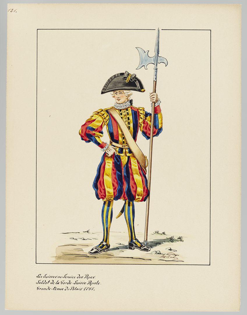 1797 Schweizer Garde GS-POCHON-419