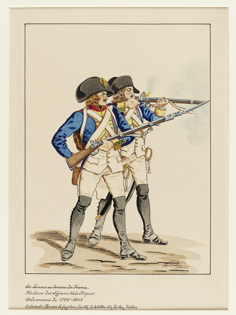 1798 Legion Helvetique GS-POCHON-756