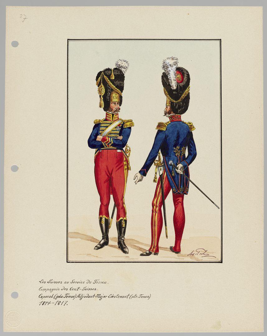 1814 Cent-Suisses GS-POCHON-201