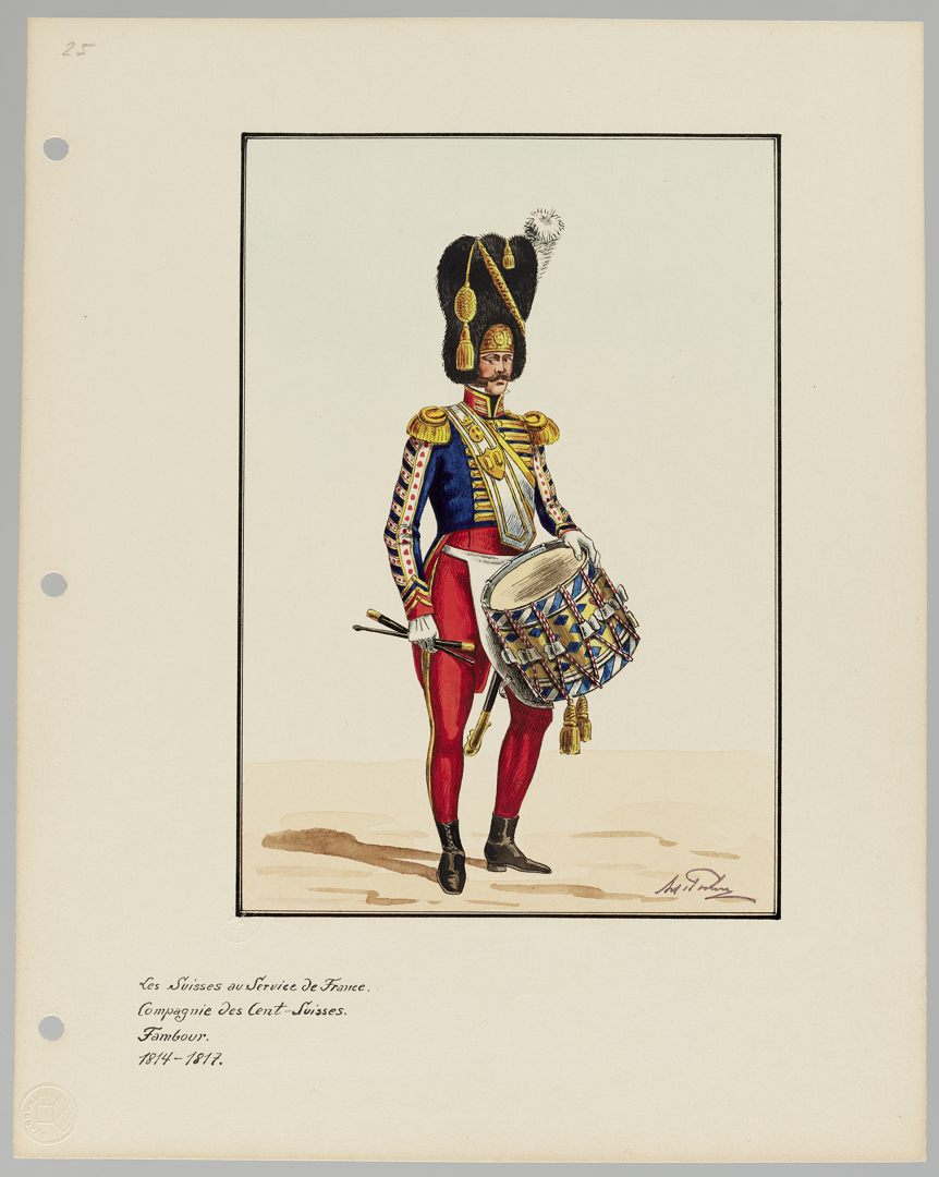 1814 Cent-Suisses GS-POCHON-202