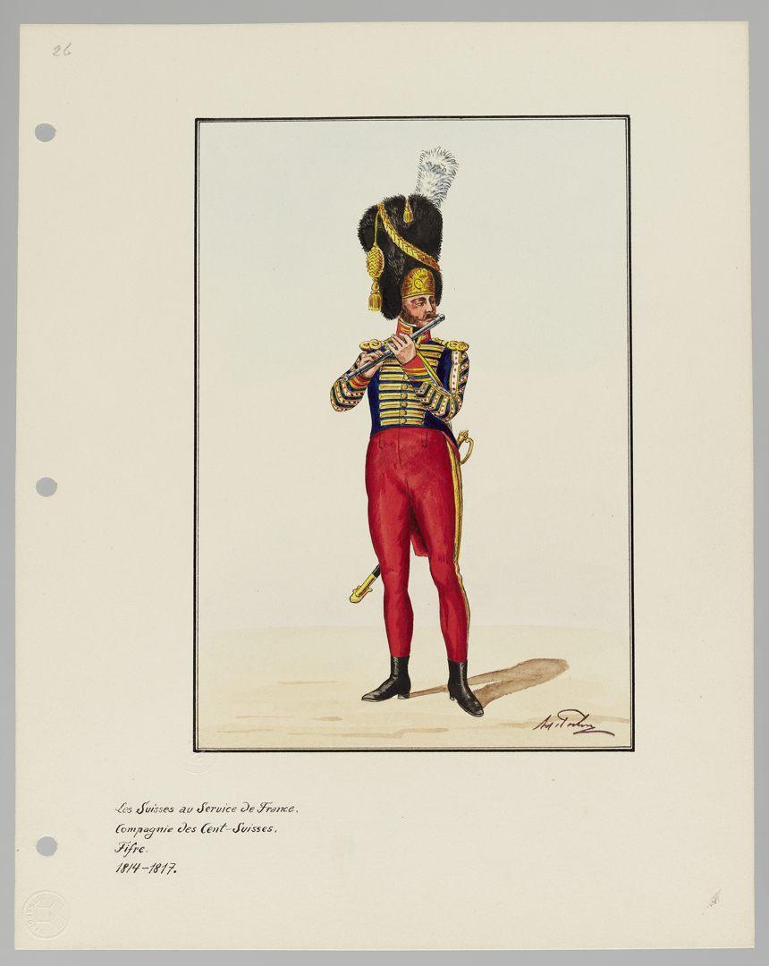 1814 Cent-Suisses GS-POCHON-203