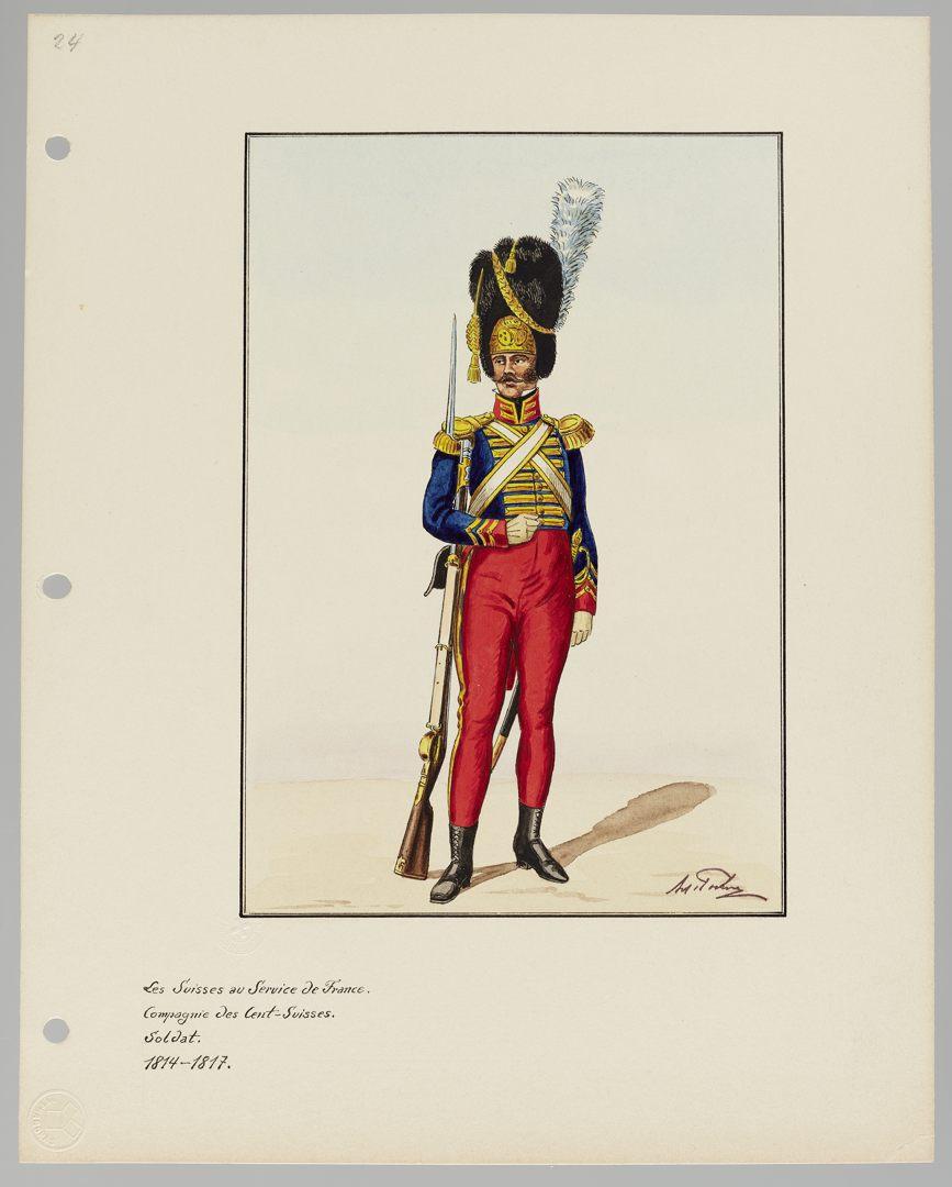 1814 Cent-Suisses GS-POCHON-204