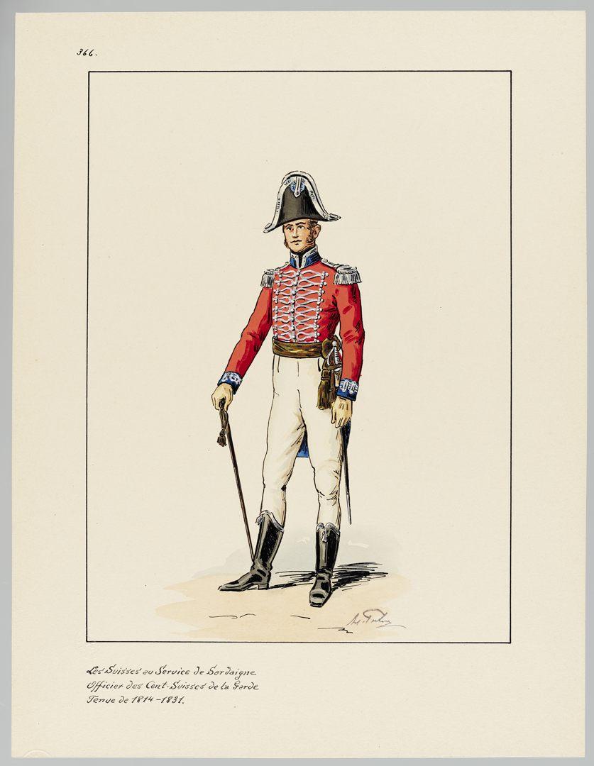 1814 Cent-Suisses GS-POCHON-370