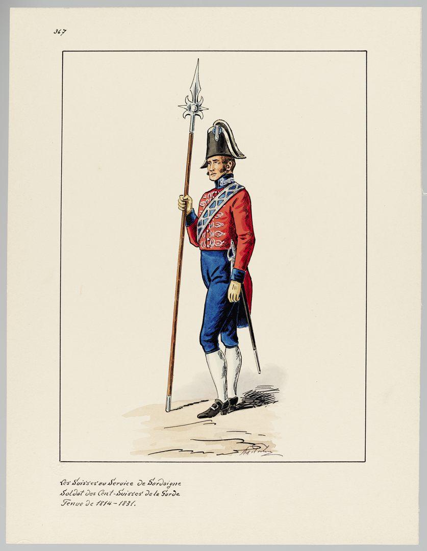 1814 Cent-Suisses GS-POCHON-371
