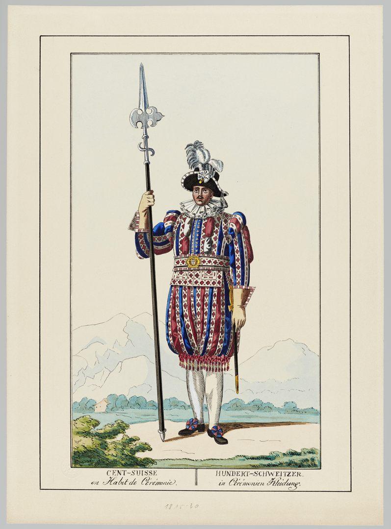 1815 Cent-Suisses GS-POCHON-285