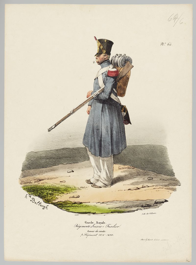 1815 Garde Royale GS-POCHON-280