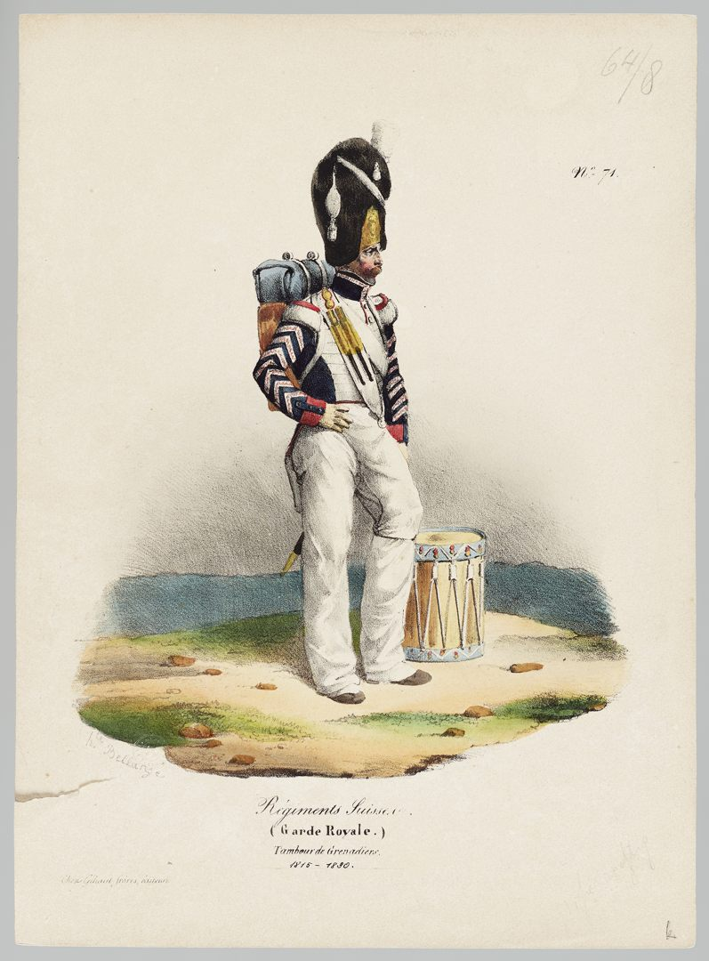 1815 Garde Royale GS-POCHON-281