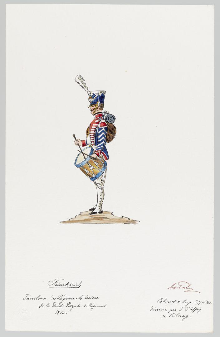 1816 Garde Royale GS-POCHON-268