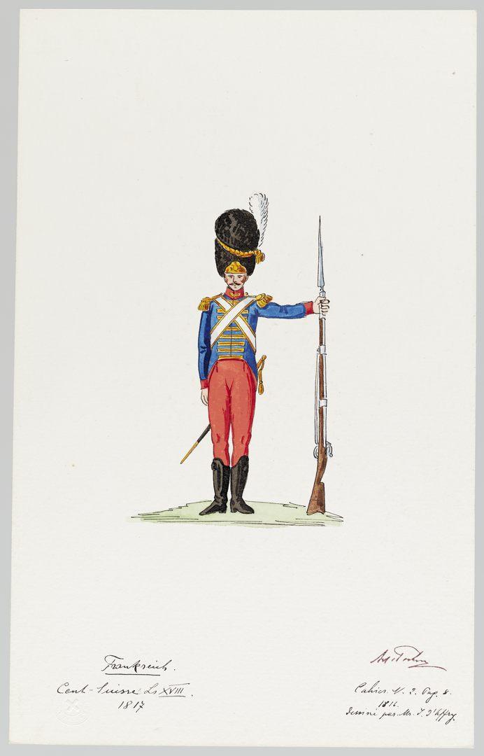 1817 Cent-Suisses GS-POCHON-274