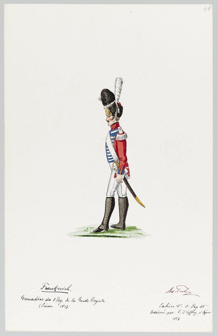 1817 Garde Royale GS-POCHON-269