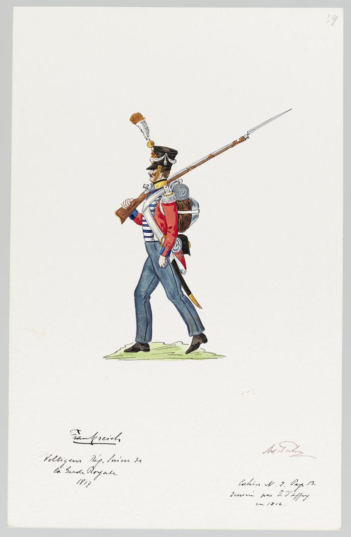 1817 Garde Royale GS-POCHON-270